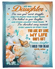 """To Daughter - You're My Love - Small Fleece Blanket - 30"""" x 40"""" front"""