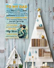 To Dad - my hero 11x17 Poster lifestyle-holiday-poster-2