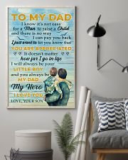 To Dad - my hero 11x17 Poster lifestyle-poster-1
