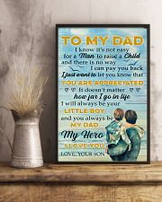 To Dad - my hero 11x17 Poster lifestyle-poster-3