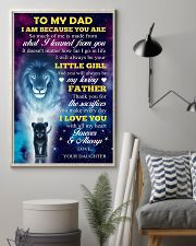 To Dad - All My Heart 11x17 Poster lifestyle-poster-1