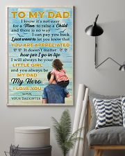 To Dad - My Dad My Hero - 11x17 Poster lifestyle-poster-1
