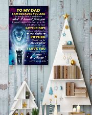 To Dad - I Love You 11x17 Poster lifestyle-holiday-poster-2