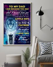 To Dad - I Love You 11x17 Poster lifestyle-poster-1