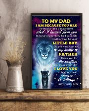 To Dad - I Love You 11x17 Poster lifestyle-poster-3