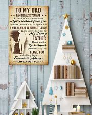 To Dad - Sacrifies 11x17 Poster lifestyle-holiday-poster-2