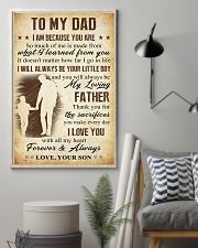 To Dad - Sacrifies 11x17 Poster lifestyle-poster-1