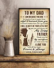 To Dad - Sacrifies 11x17 Poster lifestyle-poster-3