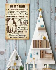 To Dad - The Sacrifies You Make 11x17 Poster lifestyle-holiday-poster-2