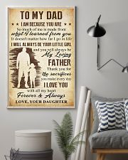 To Dad - The Sacrifies You Make 11x17 Poster lifestyle-poster-1