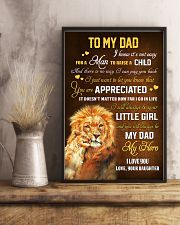 To Dad - Forever My Dad 11x17 Poster lifestyle-poster-3