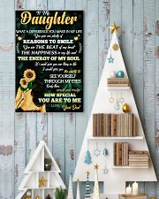To Daughter - Reasons To Smile - 11x17 Poster lifestyle-holiday-poster-2