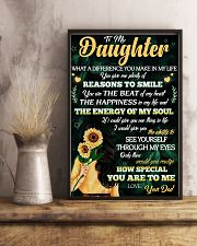 To Daughter - Reasons To Smile - 11x17 Poster lifestyle-poster-3