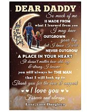 To Dad - Love And Support 11x17 Poster front