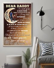 To Dad - Love And Support 11x17 Poster lifestyle-poster-1