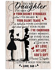 To Daughter - My Life - 11x17 Poster front