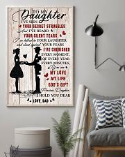 To Daughter - My Life - 11x17 Poster lifestyle-poster-1
