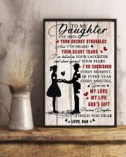 To Daughter - My Life - 11x17 Poster lifestyle-poster-3