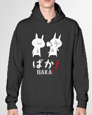 BAKA shirt Hooded Sweatshirt garment-hooded-sweatshirt-front-04