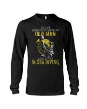 OLD MAN WHO LOVES SCUBA DIVING Long Sleeve Tee thumbnail