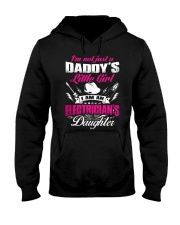 I Am An Electrician's Daughter Hooded Sweatshirt thumbnail