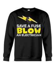 Blown an Electrician Crewneck Sweatshirt thumbnail