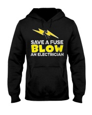 Blown an Electrician Hooded Sweatshirt thumbnail