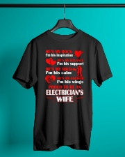 Rock Balance Anchor Proud Electricians Wife Classic T-Shirt lifestyle-mens-crewneck-front-3