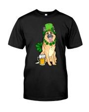 German Shepherd Shirt Classic T-Shirt front