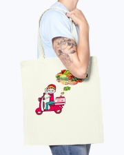 QUAN VIET AICHI Tote Bag accessories-tote-bag-BE007-front-model-02