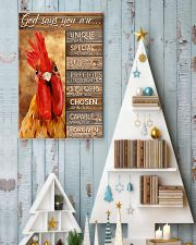 God says you are Faux wood print 11x17 Poster lifestyle-holiday-poster-2