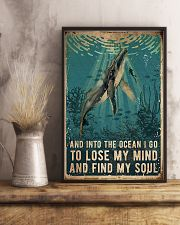 And into the ocean i go 11x17 Poster lifestyle-poster-3