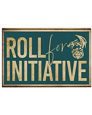 Roll for Initiative 17x11 Poster front