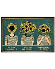 So very thankful 17x11 Poster front