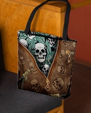 Tropical skull All-over Tote aos-all-over-tote-lifestyle-front-02