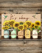 It's okay 17x11 Poster poster-landscape-17x11-lifestyle-14