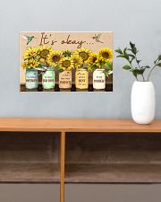 It's okay 17x11 Poster poster-landscape-17x11-lifestyle-24