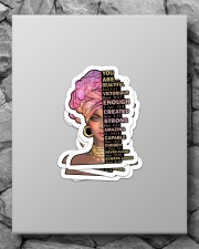 God says you are Sticker - 4 pack (Vertical) aos-sticker-4-pack-vertical-lifestyle-front-09