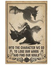 Into the character I go 11x17 Poster front