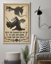 Into the character I go 11x17 Poster lifestyle-poster-1