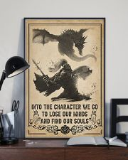 Into the character I go 11x17 Poster lifestyle-poster-2