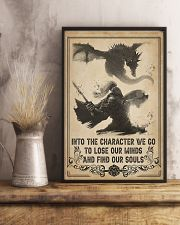Into the character I go 11x17 Poster lifestyle-poster-3