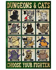 Dungeons and cats 11x17 Poster front