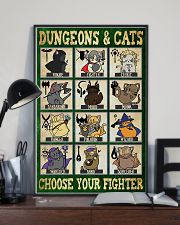 Dungeons and cats 11x17 Poster lifestyle-poster-2