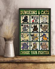 Dungeons and cats 11x17 Poster lifestyle-poster-3