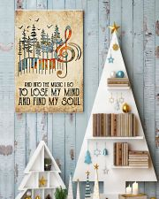 And into the music I go 11x17 Poster lifestyle-holiday-poster-2