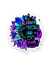 Psychedelic sticker Sticker - 4 pack (Vertical) front