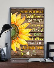 I want to be like a sunflower  11x17 Poster lifestyle-poster-2