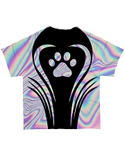 Hologram color All-over T-Shirt back