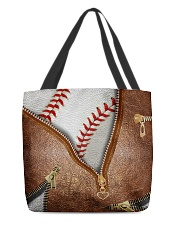 Baseball tote All-over Tote front